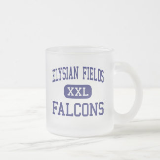 Elysian Fields Falcons Middle Houma 10 Oz Frosted Glass Coffee Mug
