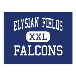 Elysian Fields Falcons Middle Houma Postcard