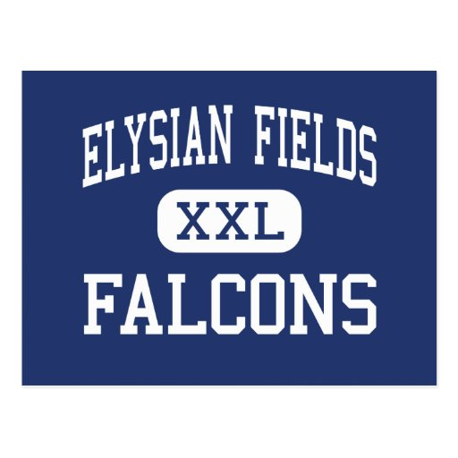Elysian Fields Falcons Middle Houma Postcards