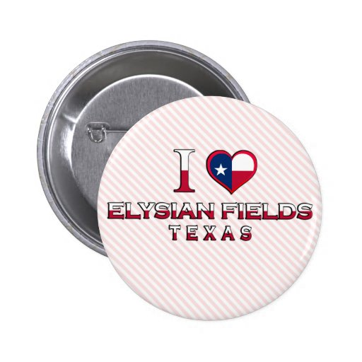 Elysian Fields, Texas Button