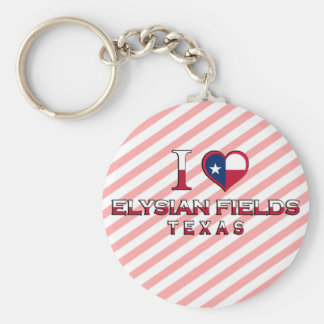 Elysian Fields Texas Key Chains