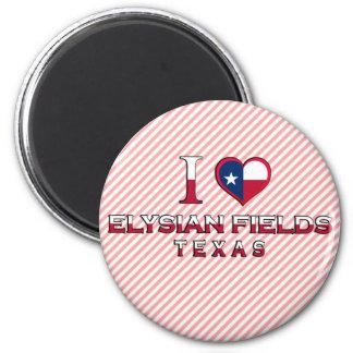 Elysian Fields Texas Fridge Magnets