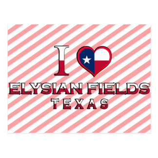 Elysian Fields, Texas Postcards