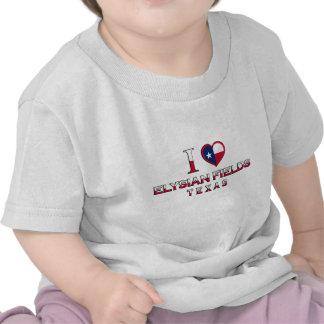 Elysian Fields, Texas T-shirt