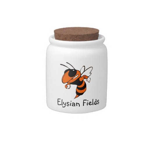 Elysian Fields Yellow Jacket Candy Jar