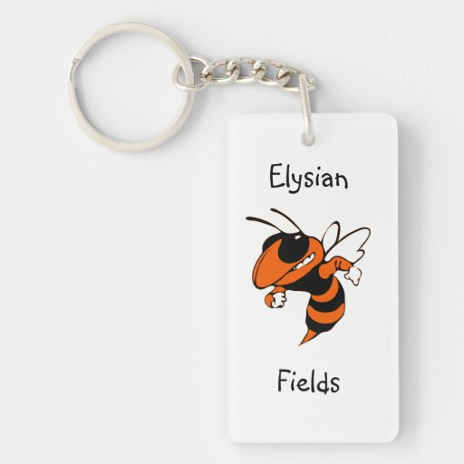 Elysian Fields Yellow Jackets Keychain