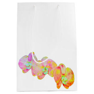 Elysian Orchids Medium Gift Bag