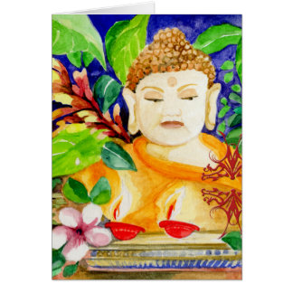 Elysian Peace Buddha Greeting Card