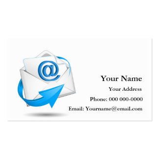 Email and Internet Communication Pack Of Standard Business Cards