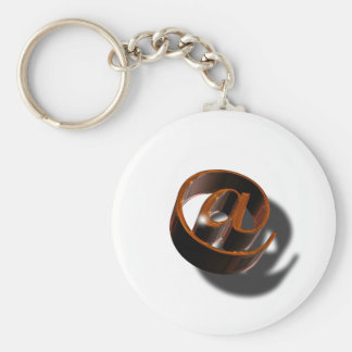 Email-email-1376384 Basic Round Button Key Ring