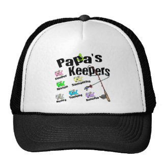 Email me BEFORE you order Papa's Keepers Cap
