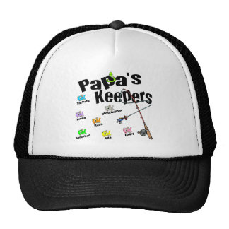 Email me FIRST to customize Papa's Keepers order Cap