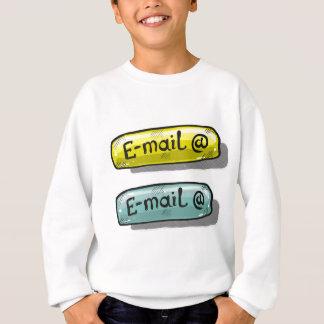EMail Sketch Button Web Sweatshirt