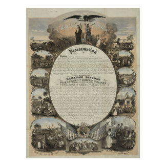 Emancipation Proclamation [1864] Poster