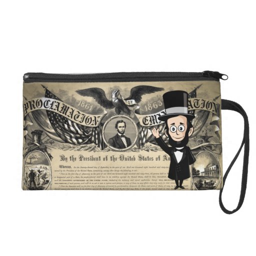 Emancipation Proclamation and Honest Abe Lincoln Wristlet