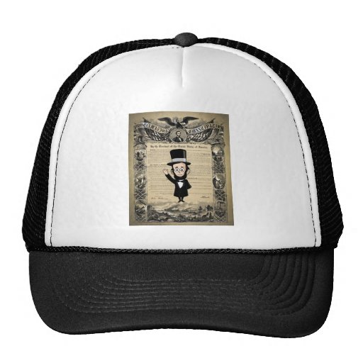Emancipation Proclamation and Honest Abe Lincoln Hats