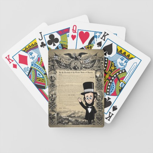Emancipation Proclamation and Honest Abe Lincoln Card Decks