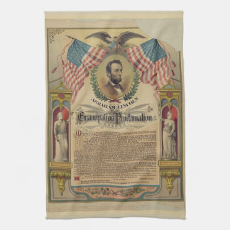 Emancipation Proclamation Kitchen Towel