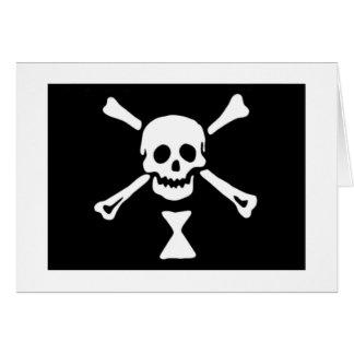 Emanuel Wynne Pirate Flag Card