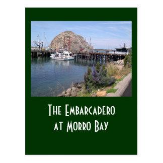 Embarcadero at Morro Bay Postcard