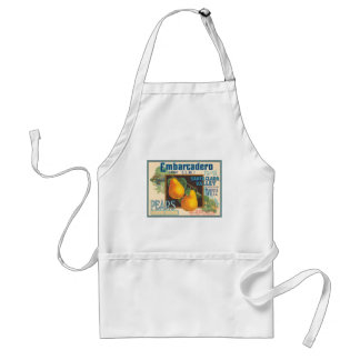 Embarcadero Brand Vintage Crate Label Aprons