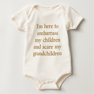 EMBARRASS THE CHILDREN BABY BODYSUIT