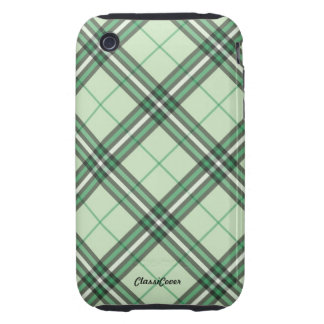 Embassy Plaid Green iPhone 3G/3GS Case Mate Tough iPhone 3 Tough Cases