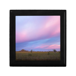 Embers in the Sky over Florida Everglades Gift Box