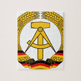 Emblem der DDR - National Emblem of the GDR Jigsaw Puzzle