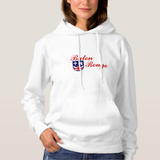 Emblem of Baton Rouge, Louisiana Hoodie