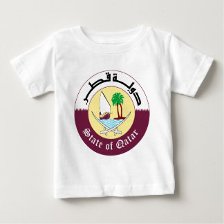 Emblem_of_Qatar Baby T-Shirt