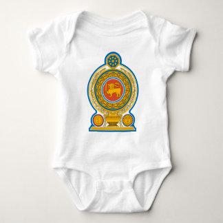 Emblem_of_Sri_Lanka Baby Bodysuit