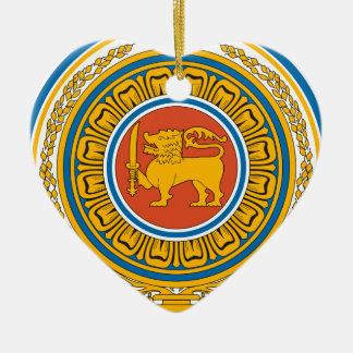 Emblem_of_Sri_Lanka Ceramic Ornament