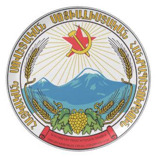 Emblem of the Armenian Soviet Socialist Republic Plate