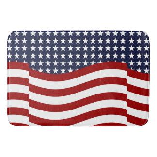 EMBLEM OF THE LAND I LOVE! (patriotic flag design) Bath Mats