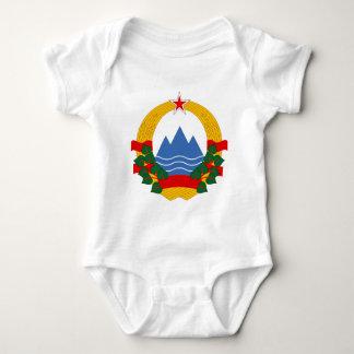 Emblem of the Socialist Republic of Slovenia Baby Bodysuit