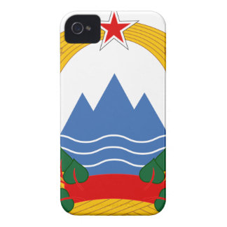 Emblem of the Socialist Republic of Slovenia iPhone 4 Cases
