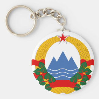 Emblem of the Socialist Republic of Slovenia Key Ring