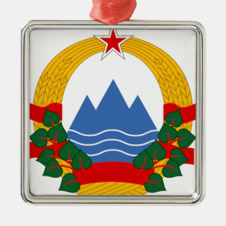 Emblem of the Socialist Republic of Slovenia Metal Ornament