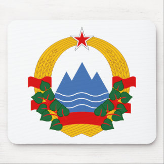 Emblem of the Socialist Republic of Slovenia Mouse Pad