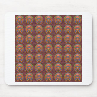 Embossed 3D Emblem Art christmas diwali gifts fun Mouse Pad