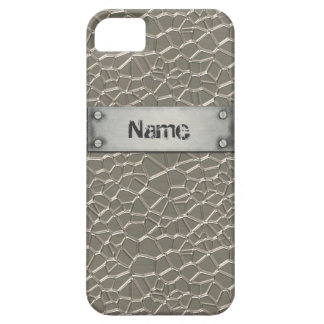 Embossed Aluminium iPhone 5 Cover