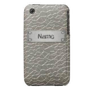 Embossed Aluminium iPhone 3G/3GS Case iPhone 3 Cover
