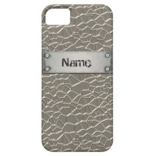 Embossed Aluminium iPhone 5/5S Case