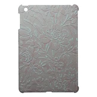 embossed & distressed pale pink iPad mini case