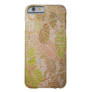 Embossed Golden Leaf iPhone 6 Cases Barely There iPhone 6 Case