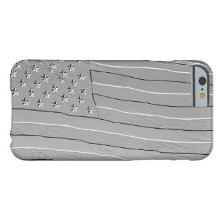 Embossed looking American flag Barely There iPhone 6 Case