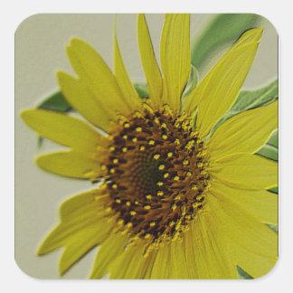 Embossed Sunflower Sticker