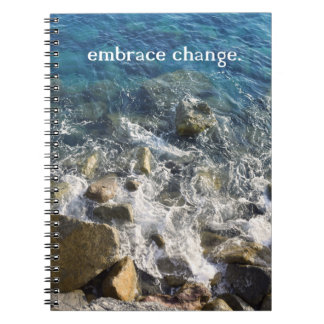 Embrace Change Notebook