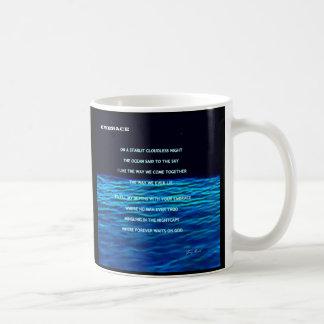 Embrace Conceptual Art by Gary Revel Coffee Mug
